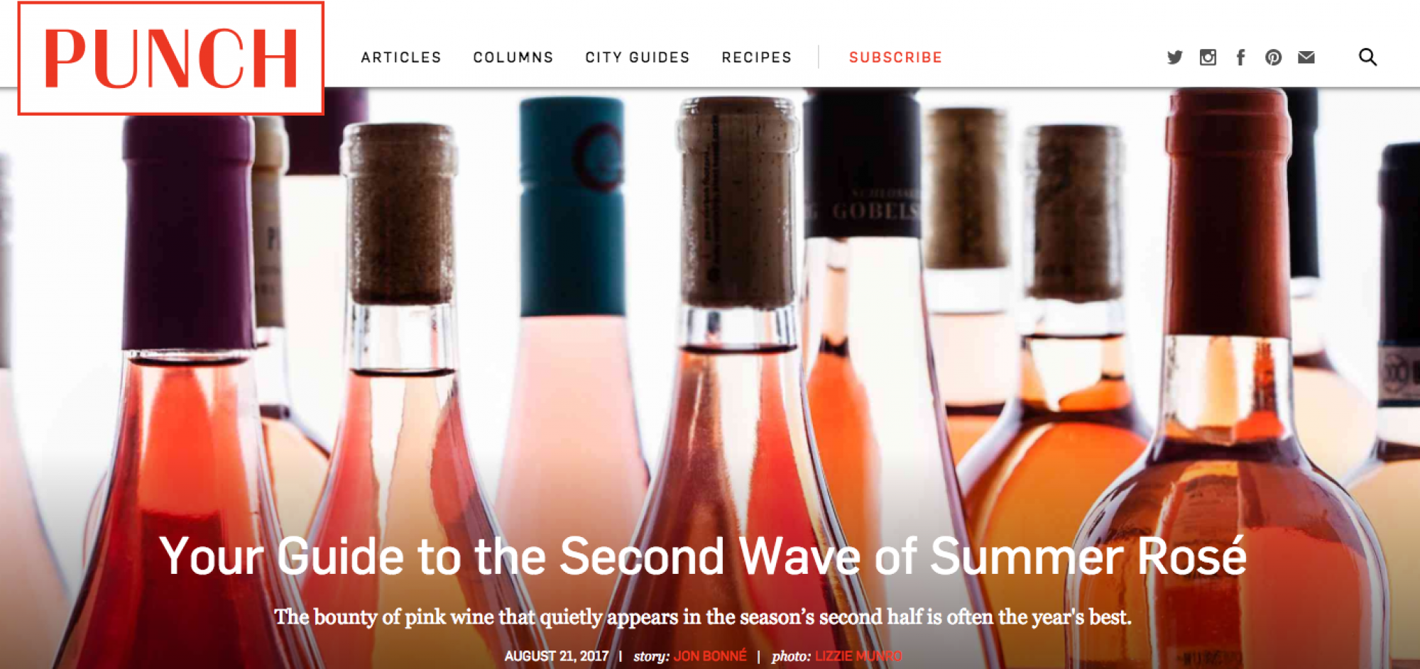 Highlights from Punch's Guide to the Second Wave of Summer Rose