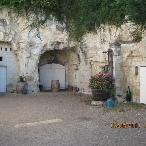 The cellar at Baudry