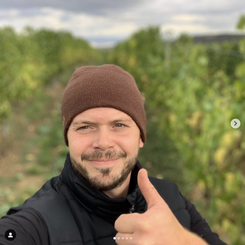 Michael Fürst approves of the vintage!