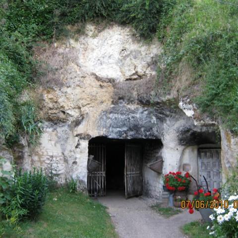 Cellar at Clos Roche Blanche