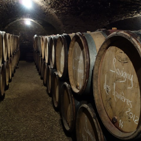 '12 Chandon de Briailles in barrel