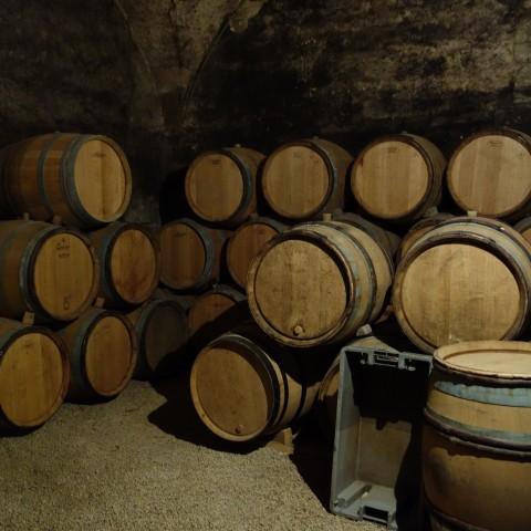 Cellar at Clos de la Perrière
